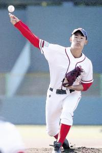 投打で勝利に貢献した奈良葛城・青山