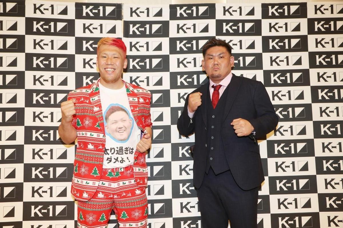 京太郎(左)と、実方(C)K―1