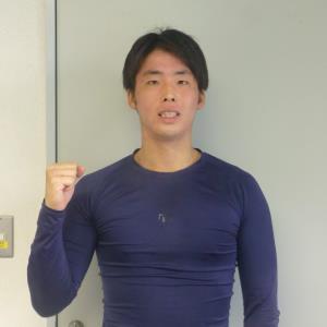 来春のリーグ戦での飛躍を誓う東洋大・松沢投手