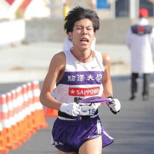 1月の箱根駅伝、力走した駒大3区・田沢廉