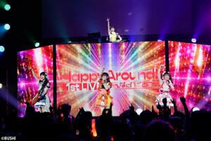 初のワンマンライブを行ったD4DJのユニット「Happy Around!」