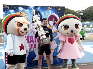 G3初優勝を飾った吉田拓弥