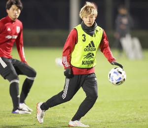 U-23日本代表候補合宿に初選出されたF東京・安部柊斗