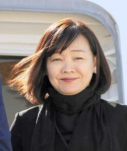 安倍昭恵前首相夫人(共同)