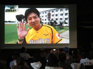 台湾からオンライントークショーを行った元阪神・林威助