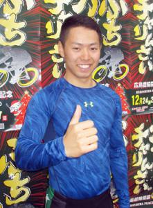 広島競輪で行われた「レインボーカップ・チャレンジファイナル」を制し、A級2班への特別昇班を決めた渡辺雅也