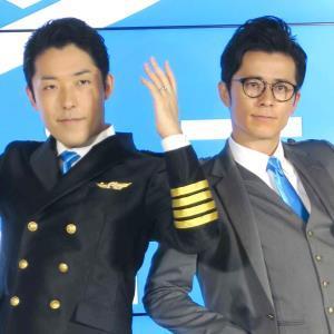 独立を発表したオリエンタルラジオの中田敦彦(左)、藤森慎吾