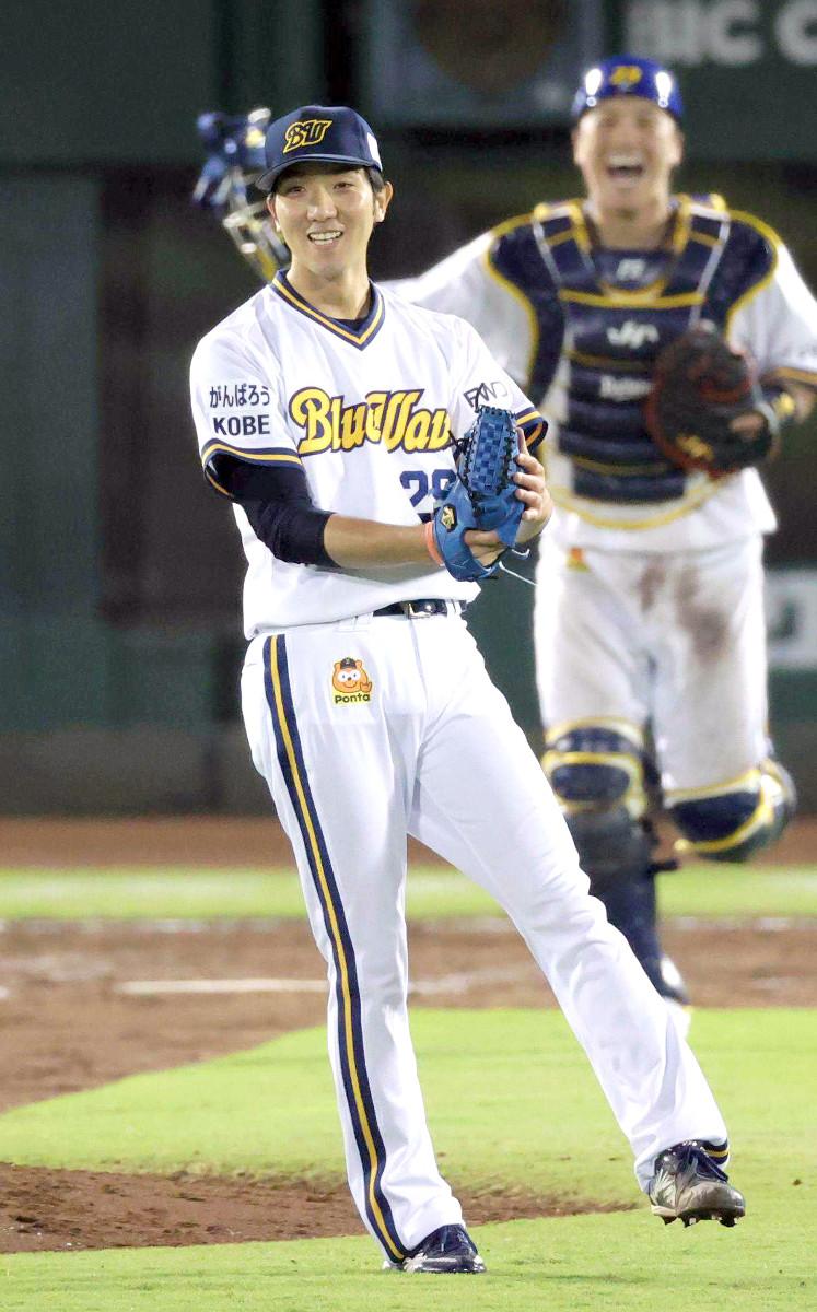9月16日の楽天戦でプロ初完投初完封勝利を挙げたオリックス・田嶋大樹(ほっともっとフィールド神戸)