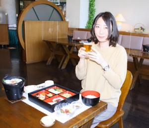 黒部市の宇奈月麦酒館で、宇奈月地ビールを堪能