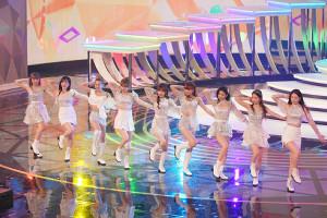 第71回NHK紅白歌合戦(NiziUの歌唱シーン)