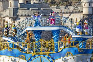 東京ディズニーシーの「ミッキー&フレンズのハーバーグリーティング」(Disney)