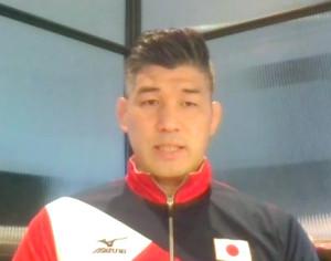 今後の強化方針について説明する全日本男子・井上康生監督