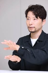 昨年11月末、スポーツ報知のインタビューに応じた星野源(カメラ・橋口 真)