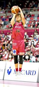 チーム最多の21得点をあげた辻直人(C)KAWASAKI BRAVE THUNDERS