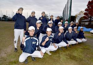 富山北部・水橋の選手たち(20年12月撮影)