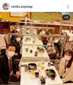 小柳ルミ子のインスタグラム(@rumiko_koyanagi)より