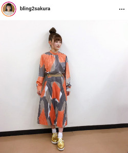 井上咲楽のインスタグラム(@bling2sakura)より