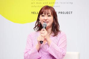 イベントに出席した菊地亜美