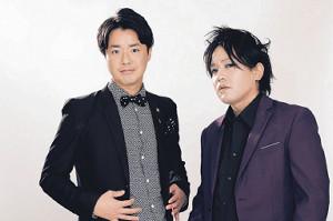 NHK初の冠番組が決まったぺこぱ(シュウペイ(左)と松陰寺太勇)