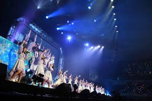 初の日本武道館コンサートを行ったSTU48(C)STU