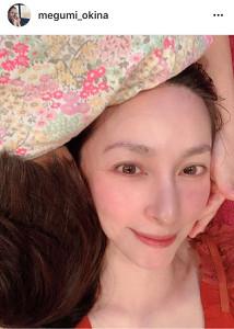 奥菜恵のインスタグラム(@megumi_okina)より