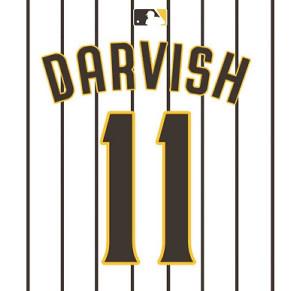 ダルビッシュの背番号が「11」になることを報告した