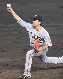 昨年の8月6日、投手を務めた増田大
