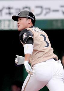 日本ハムの王柏融外野手