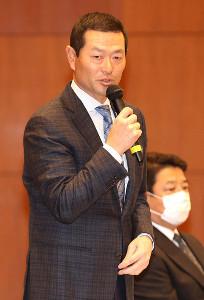 桑田真澄1軍投手チーフコーチ補佐(球団提供)