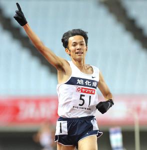 昨年12月の日本選手権で、男子10000mの日本新を更新した相沢晃