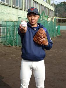 チームの日本一とドラフト1位でのプロ入りを目標に掲げた横浜商大・飯田