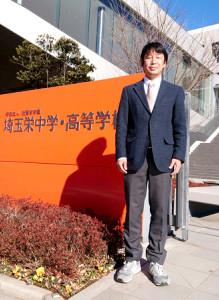 卒業生に熱く、温かいエールを送る埼玉栄高の神山洋一監督