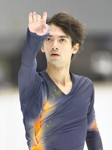成年男子フリーで演技する日野龍樹(代表撮影)