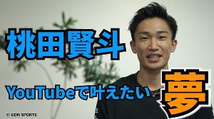 桃田賢斗のYouTube動画サムネイル(UDN SPORTS提供)