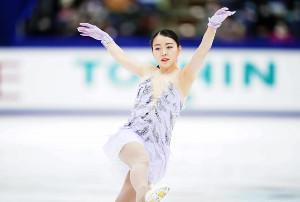 日本女子では06年トリノ大会の荒川静香以来の金メダルを狙う紀平梨花