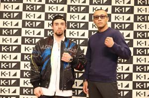 "「Day.2」大会で対戦する、木村""フィリップ""ミノル(左)と、マイク・ジョー(C)K-1"