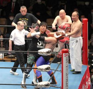 大仁田厚と2代目タイガーマスクの夢の対決も実現した