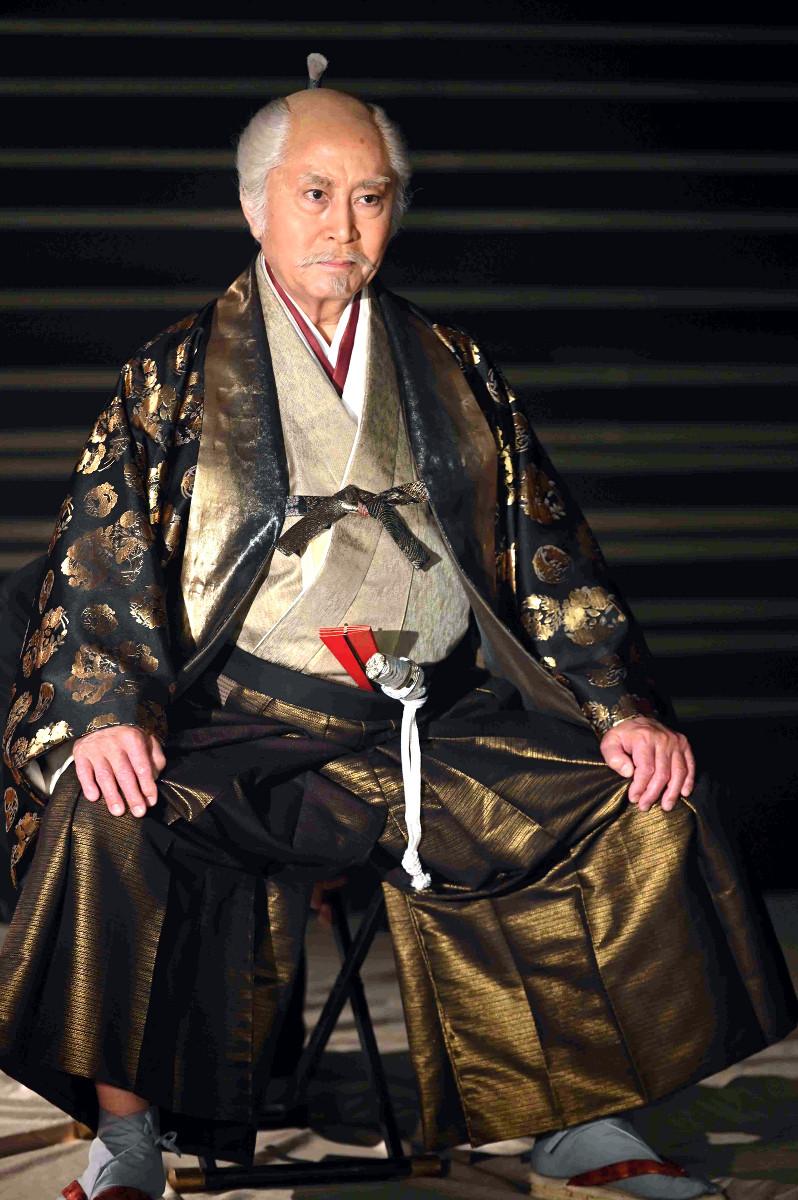 NHK大河「青天を衝け」で徳川家康を演じる北大路欣也
