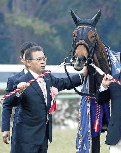 有終の美を飾った14年有馬記念のジェンティルドンナと石坂正調教師