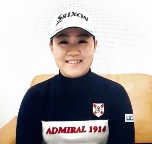 オンライン取材で東京五輪に向け、心境を語った畑岡奈紗