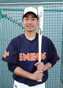 横浜商大とのオープン戦で途中出場ながら3安打を放ったENEOS・度会
