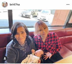 浜田ブリトニーのインスタグラム(@BRI_HA)より