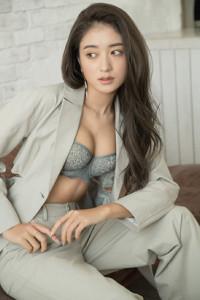 グンゼのレディースブランドのイメージキャラクターに就任した池田美優