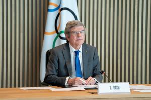 IOCのトーマス・バッハ会長(ロイター)
