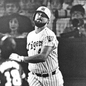 オールスター戦で本塁打を放ったランディ・バース(1987年7月28日・甲子園球場)