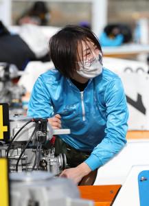 得点率18位で予選突破を決めた津田裕絵