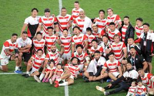 19年W杯準々決勝・南アフリカ戦を終えた日本代表フィフティーン