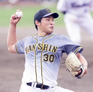 阪神6番手の佐藤蓮