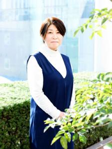 直木賞を受賞した西條奈加さん(冨永智子氏撮影)
