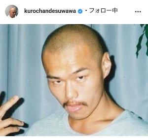 クロちゃんのインスタグラム(@kurochandesuwawa)より